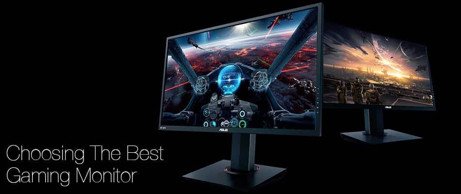 Choosing The Best Gaming Monitor